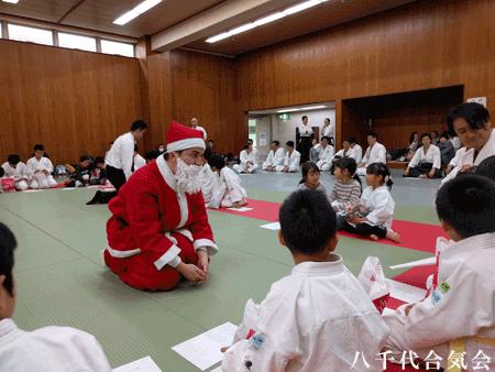 八千代合気会少年部クリスマス会